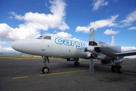 Pionair Australia's Convair VH-PDW at Launnceston, Tasmania, Australia