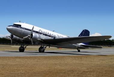 Southern DC3, ZK AMY, Bill Mallinson.