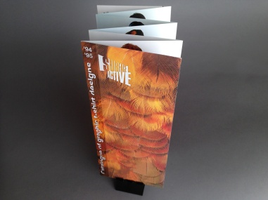 Surface Active Catalogue of graphic t-shirt designs, 1994–95.