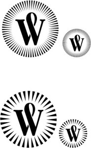 Logo with too much detail comparison.