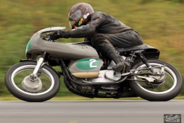 Chris Swallow, Eldee Velocette Special, Hampton Downs Summer Classic