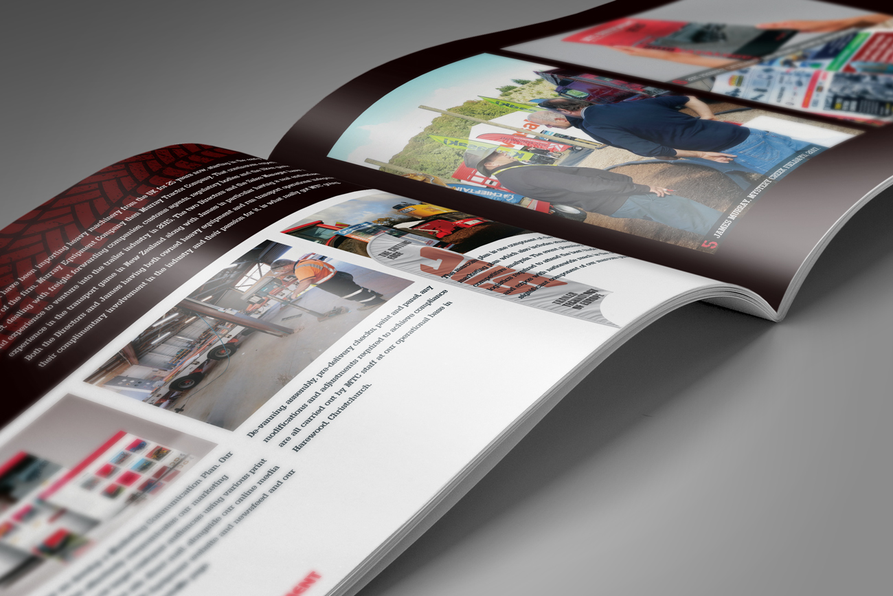 "MTC Equipment company profile document ""Our capabilities"" spread"