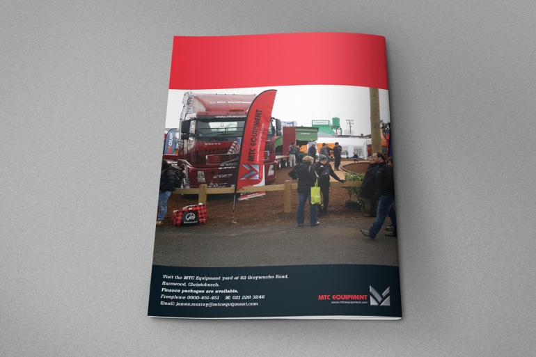 Back cover of the 2019 MTC Equipment Catalogue