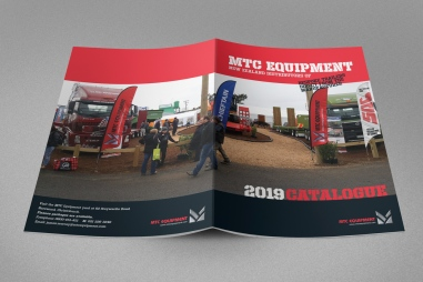 MTC Equipment 2019 Catalogue front and back cover spread
