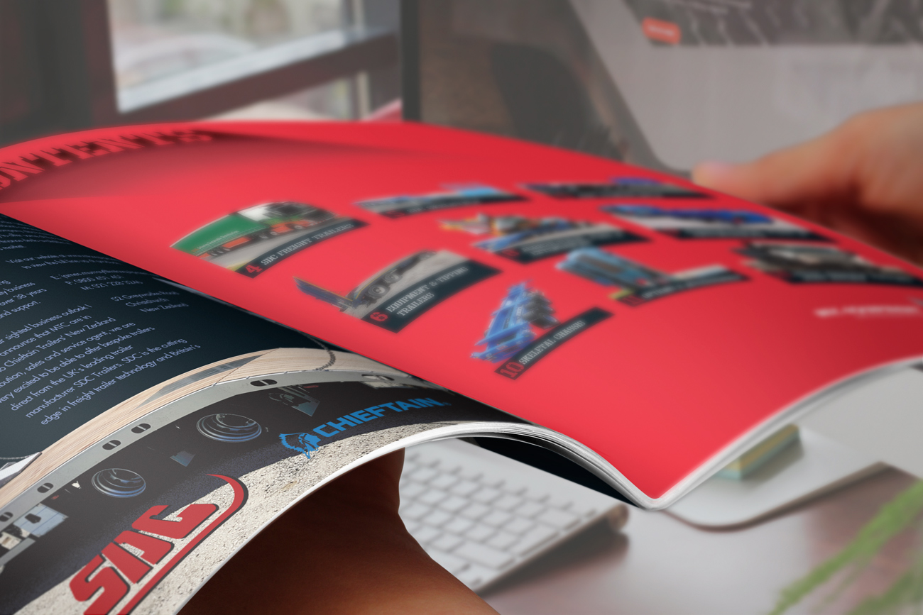 Detail MTC Equipment 2019 Catalogue inside front cover contents spread.