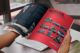 MTC Equipment 2019 Catalogue inside front cover contents spread.
