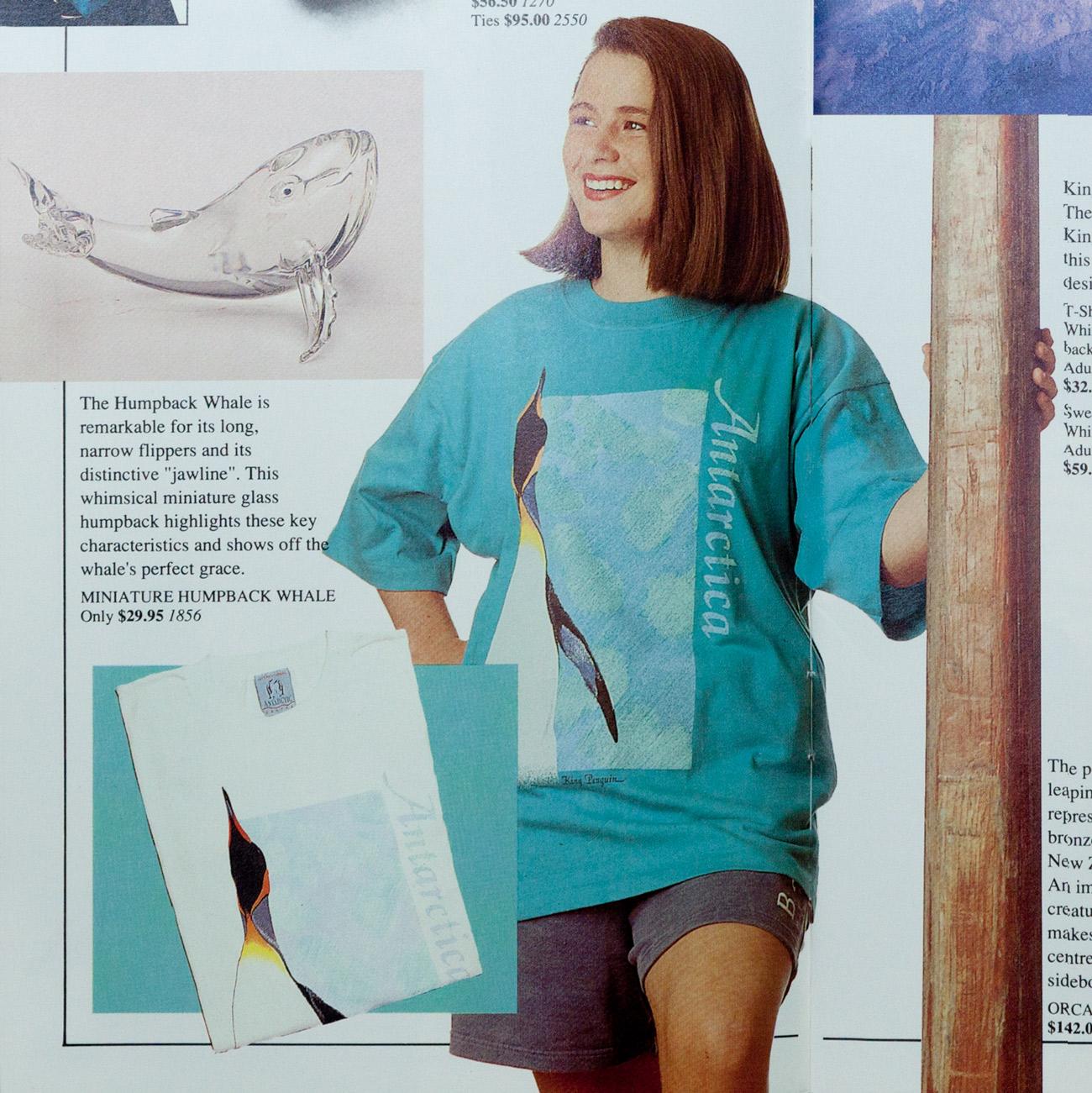 Antarctic Centre King Penguin T-shirt