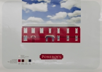 Pomeroy's Old Brewery Inn, new owners' pub building repainting scheme visual presentation 2004.