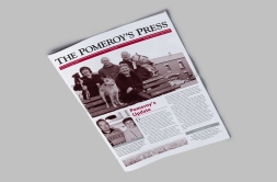 Pomeroy's Press Jun–Aug 2010 Front page.