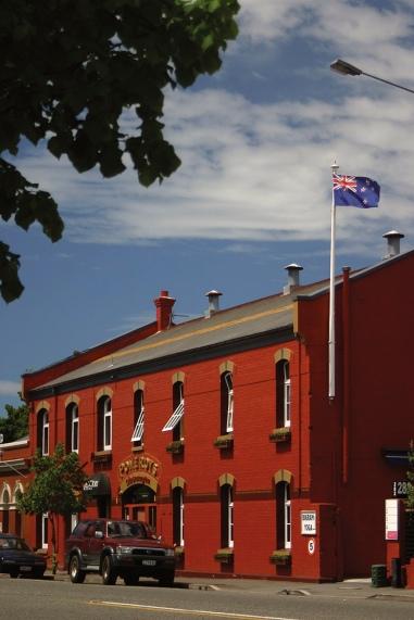 Pomeroys Old Brewery Inn.