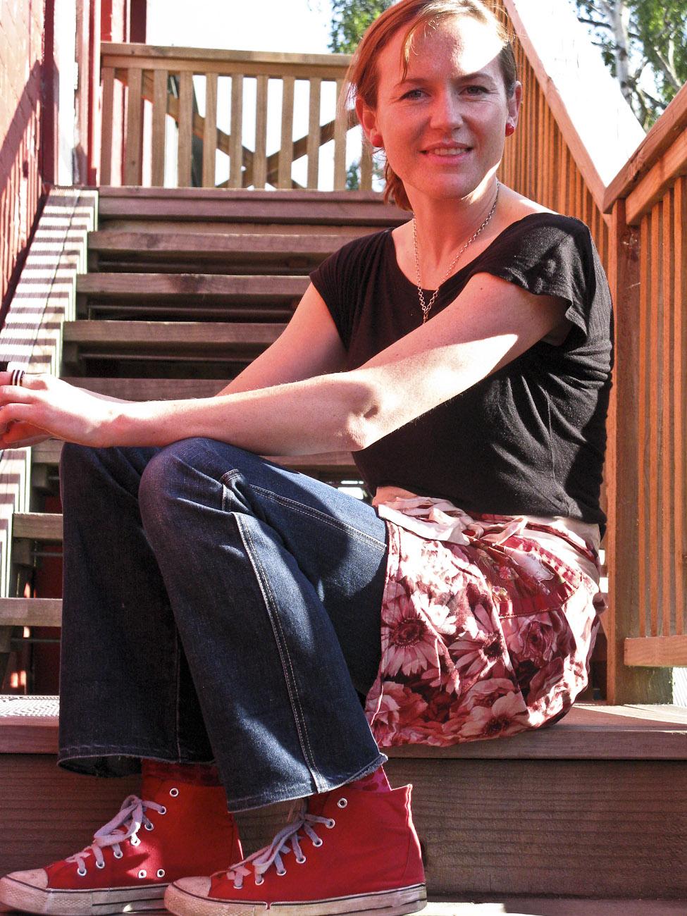 The Pomeroy's Press. Portrait for Pom's staff profile story. Georgie Henderson.