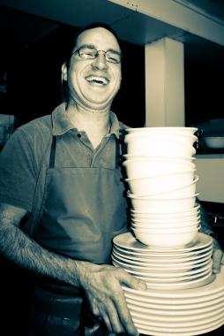 The Pomeroy's Press. Portrait for Pom's staff profile story. Jens Lissek.