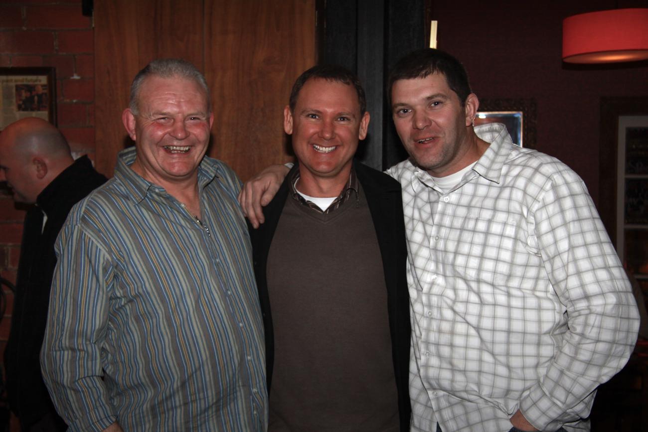 The Pomeroy's Press. Pom's staff profile article image. Steve Pomeroy Brewers' Night with Yeastie Boys.