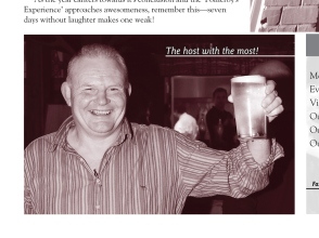 The Pomeroy's Press. Pom's staff profile article. Steve Pomeroy, the host with the most.