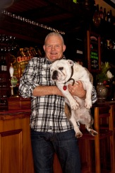 The Pomeroy's Press. Staff profile article photos. Steve Pomeroy, Bella.