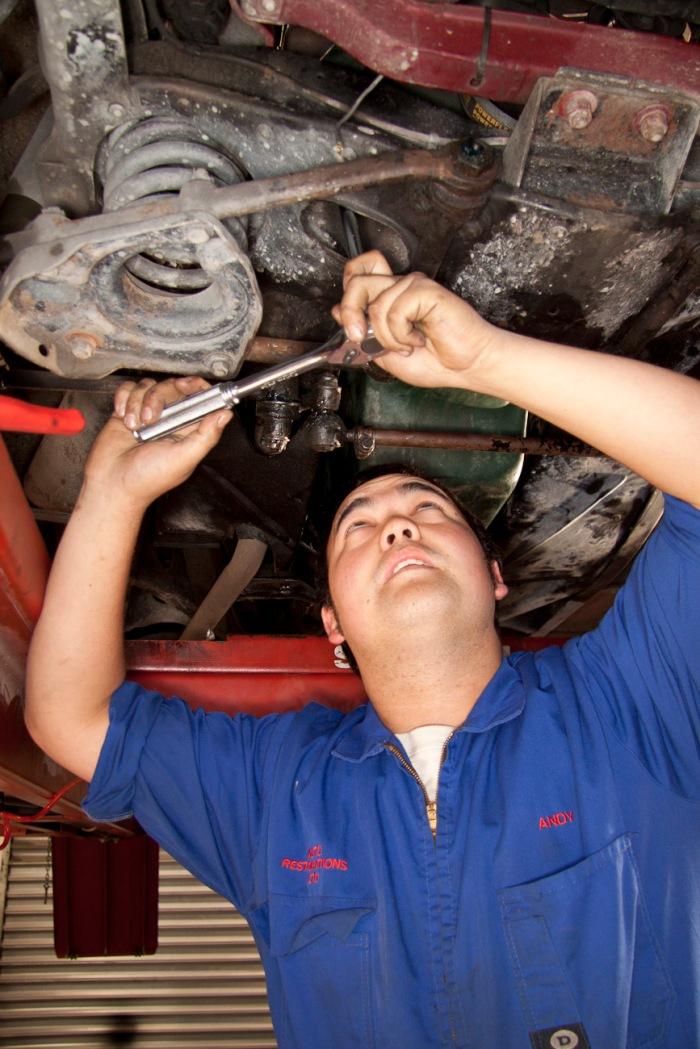 Andy Dalton, Mechanical Shop.