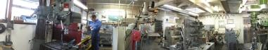Auto Restorations Auto Engineering Shop panorama.