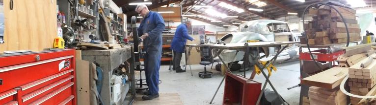 Auto Restorations Custom Coachbuilding Shop panorama.