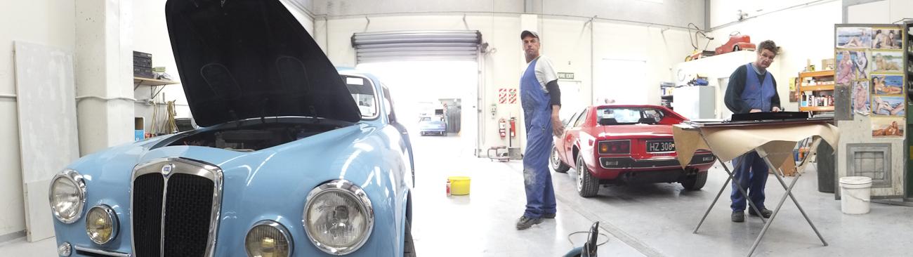 Auto Restorations Paint Shop panorama.