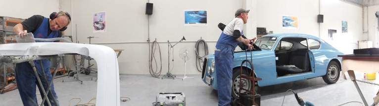 Auto Restorations Paint Shop panorama.
