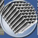 Auto Restorations radiator shop icon.
