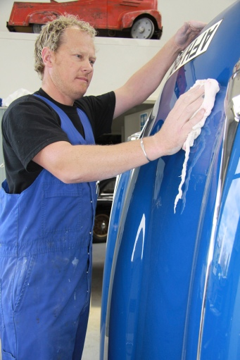 Shane Faulkner, Paint Shop, Auto Restorations.