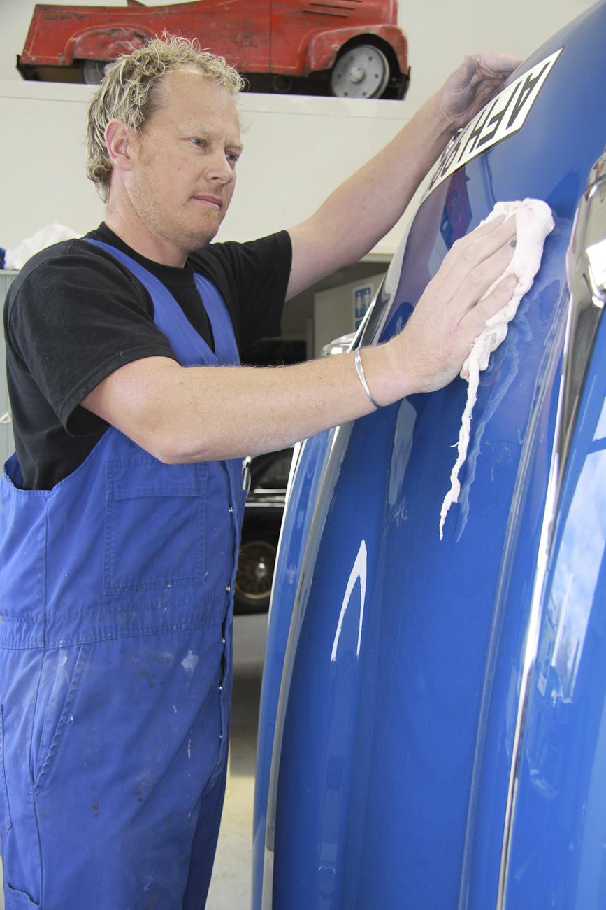 Shane Faulkner, Paint Shop, Auto Restorations.