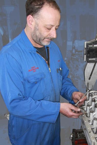 Clive Warburton, Auto Engineering Shop, Auto Restorations.