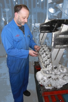 Clive Warburton, Auto Engineering Shop, Auto Restorations.