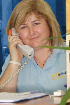 Colleen Woodill, office manager, receptionist and P.A. at Auto Restorations.