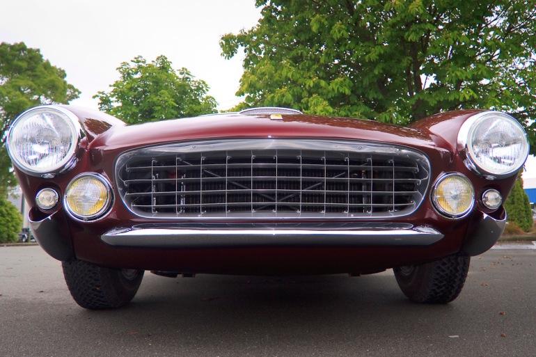 1963 Ferrari 250 GT Lusso, front view.