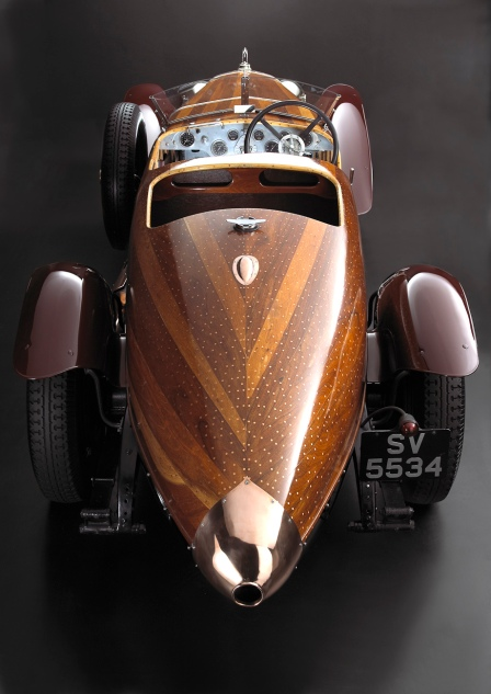 Hispano Suiza Tulipwood rear.
