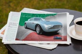 Auto Restorations Siata Balbo, First in Class Classic car magazine advertisement