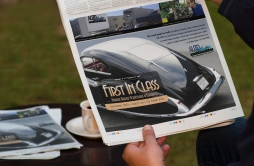 Auto Restorations - Talbot Lago - First in Class advertisment.
