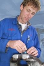 Nigel Baker, Mechanical Shop, Auto Restorations.