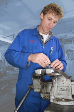 Nigel Baker, Mechanical Shop, Auto Restorations.