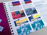 AbsoluteProof Quickstart Manual, colour, contract proof versus composite image print side-by-side comparison chart.