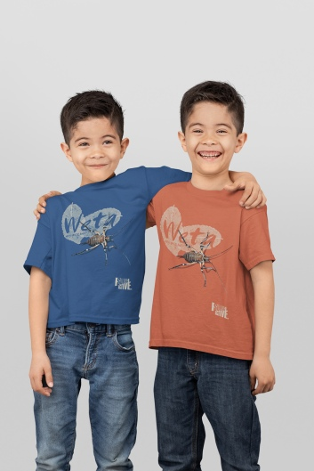 two_twin_boys_wearing_Weta_New_Zealand_t-shirts_in_a_studio-31001